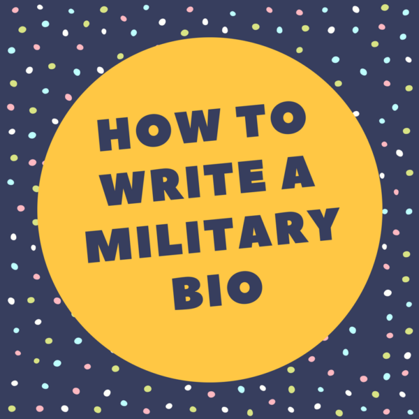 Military bio: example, writing tips, top-quality help.