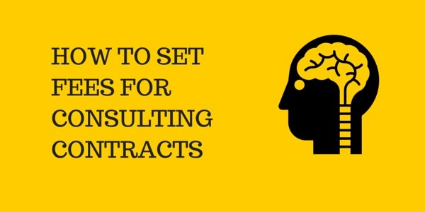 How to set fees for coaching consulting contracts